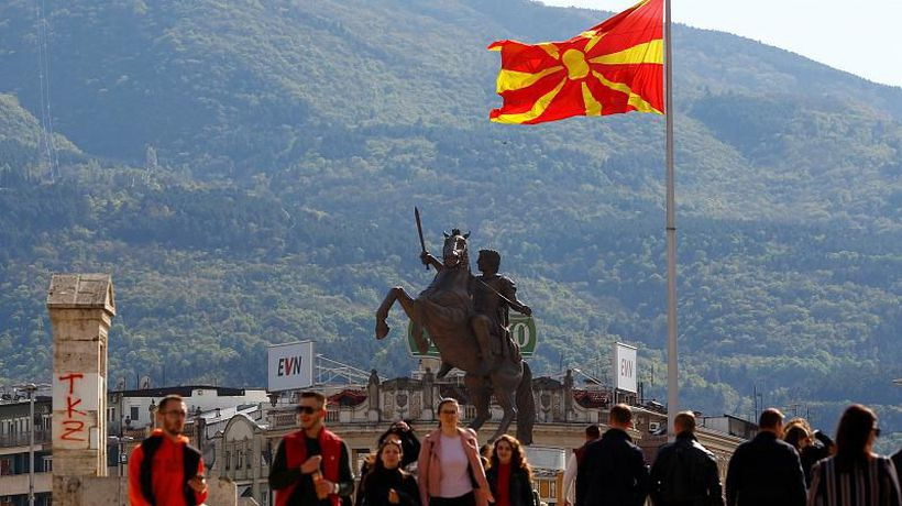 World News - North Macedonia pro-Western candidate wins first round of presidential poll