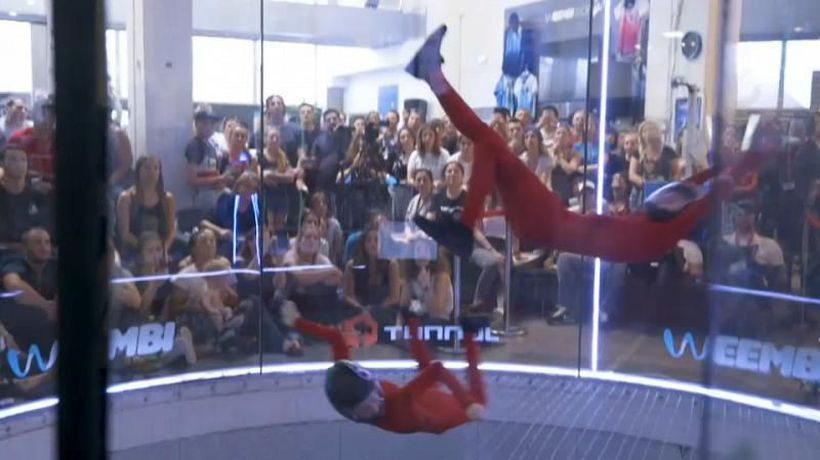 World News - Indoor skydiving? Here's how it works