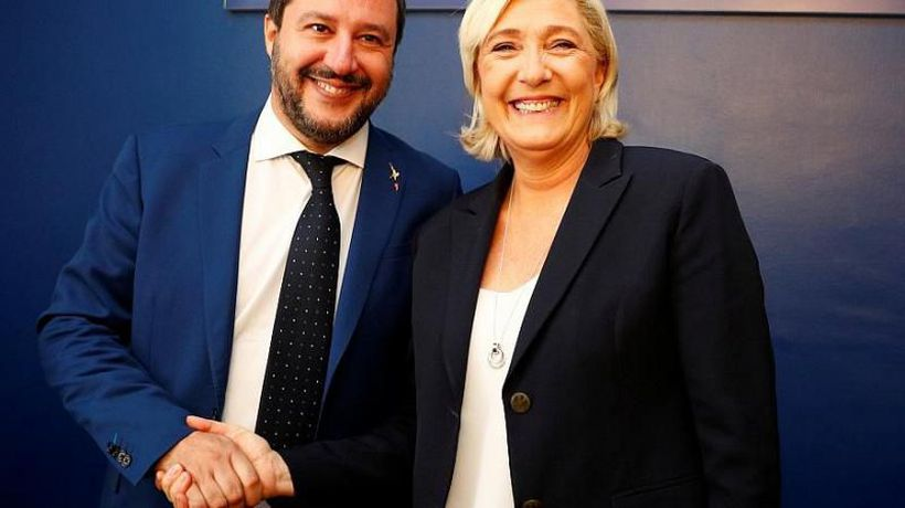 Salvini and Le Pen rally to unite European nationalists in Milan