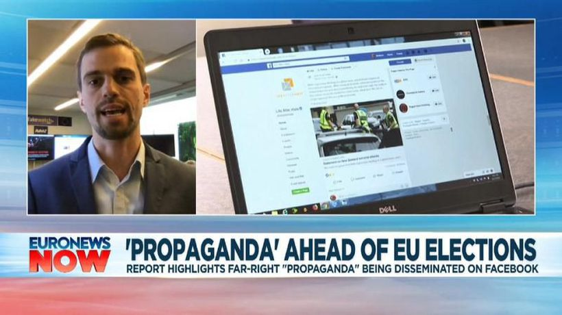 Fake content floods Facebook ahead of EU elections