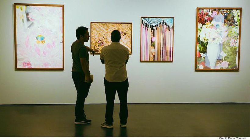 The international art scene in Dubai continues to grow