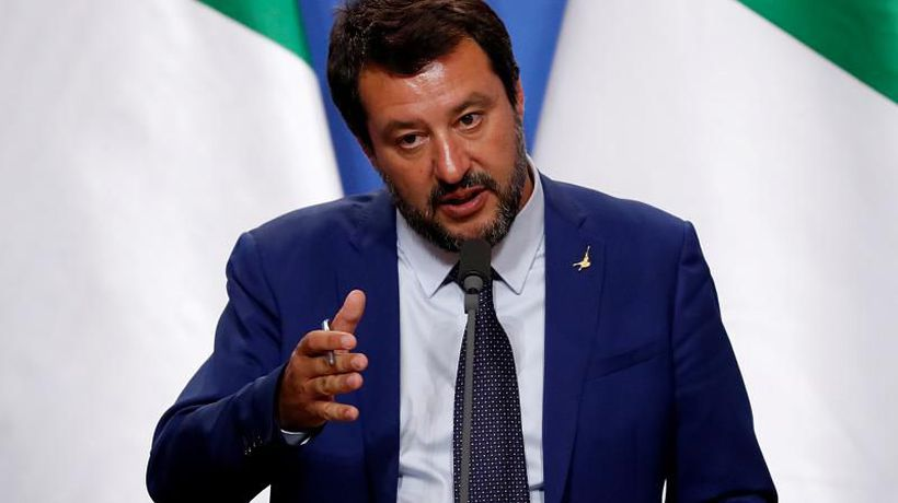 "Salvini says he ""appreciates the Trump administration"" ahead of Washington trip"