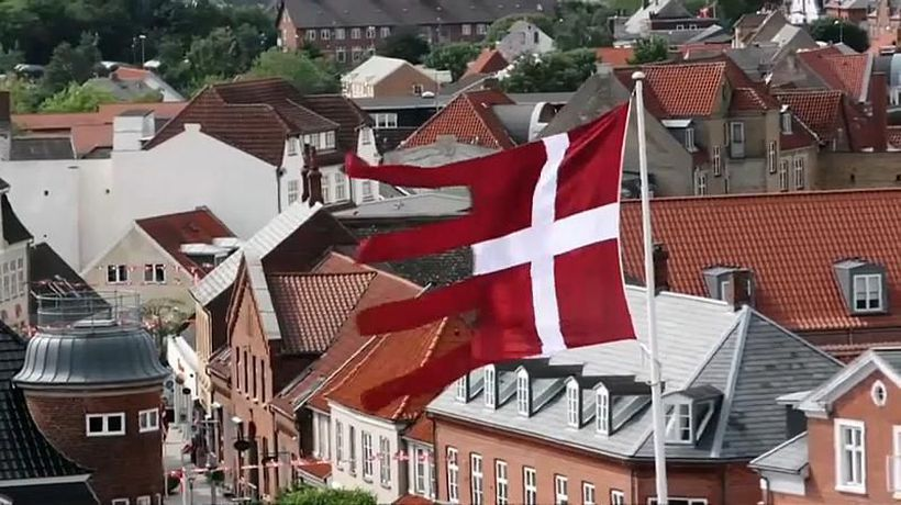 Watch: World's oldest flag, the Danish Dannebrog, celebrates 800th birthday