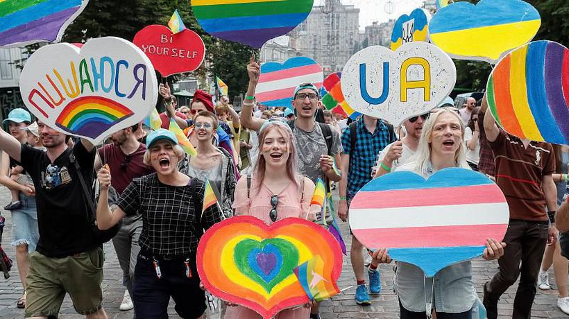 Ukraine hosts largest ever gay pride parade