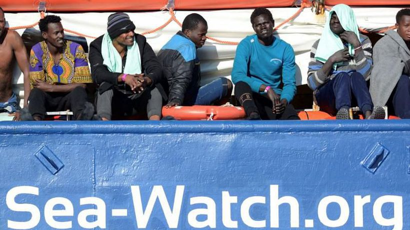 Italy says Netherlands is responsible for fate of migrants stranded at sea