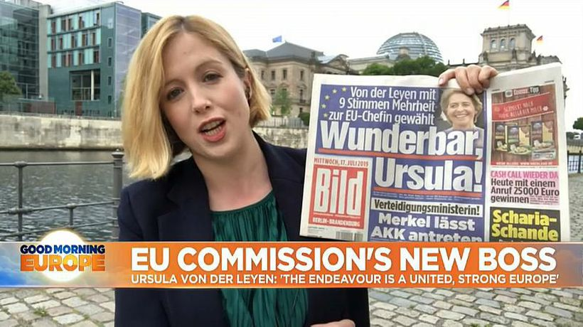 Ursula von der Leyen: What is the view from Germany on the new European Commission president?