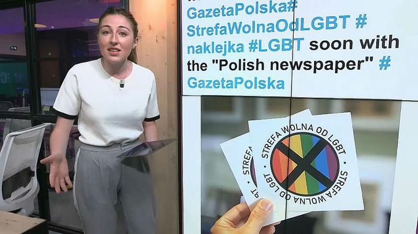 Polish newspaper criticised over plans to print 'LGBT free zone' stickers