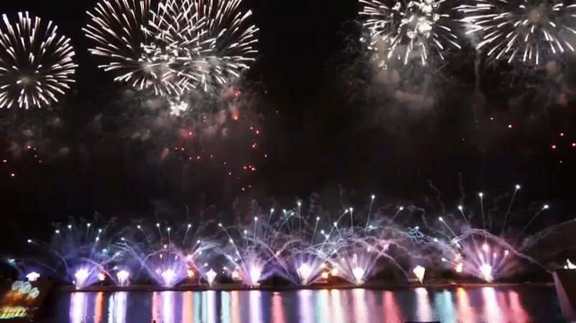 Watch: Russia takes first place at International Fireworks Festival