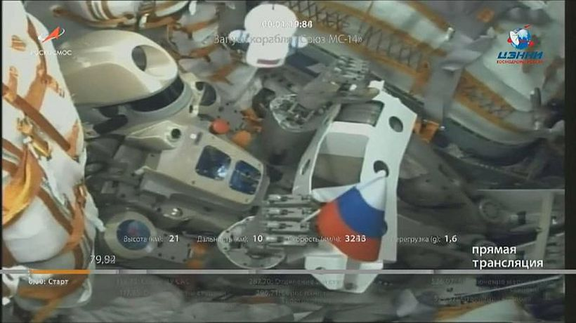 Watch: Russian robot takes solitary trip to final frontier in new rocket