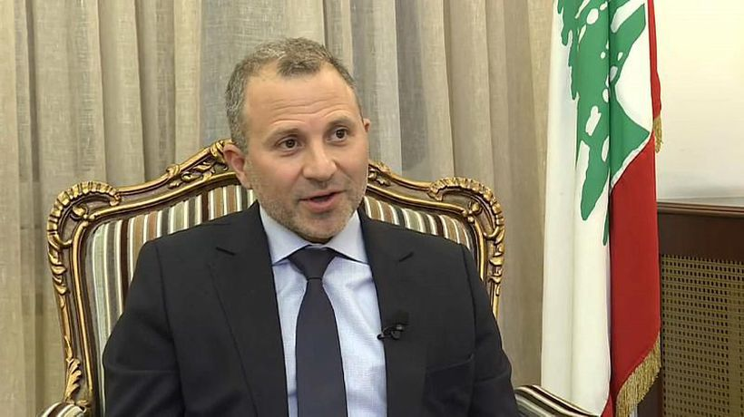 Exclusive: Euronews interview with Lebanon FM Gebran Bassil