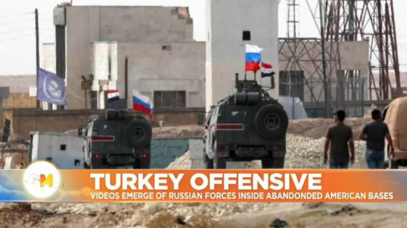 Good Morning Europe - Out with the US and in with Russia: troops take over America's abandoned Syria bases