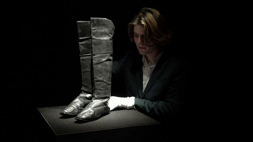 Step into history in a pair of Napoleon's boots