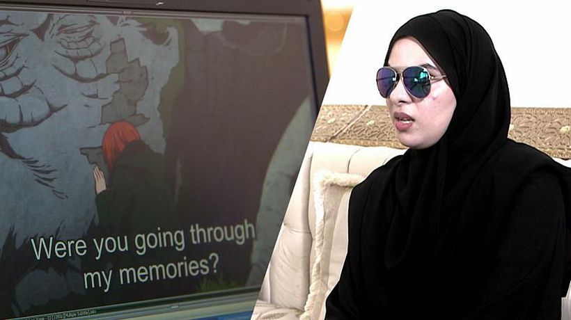 What's it like to be a blind voice-over artist? Amal Al Mansouri tells her story