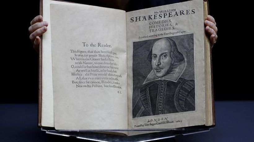 Shakespeare's First Folio: Rare 1623 collection expected to fetch $6m at auction