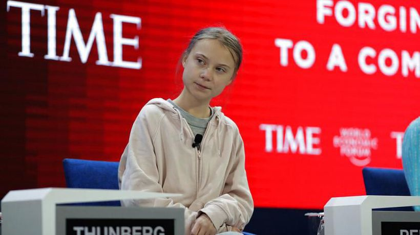 Greta Thunberg at Davos 2020: 'The world, in case you haven't noticed, is currently on fire'