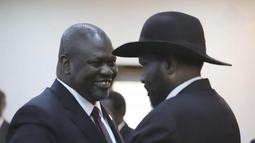 Rebel leader in South Sudan sworn in as vice president of government meant to end war