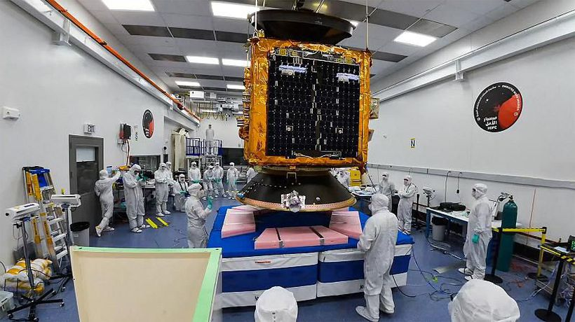 UAE Mars probe could help battle climate change on Earth