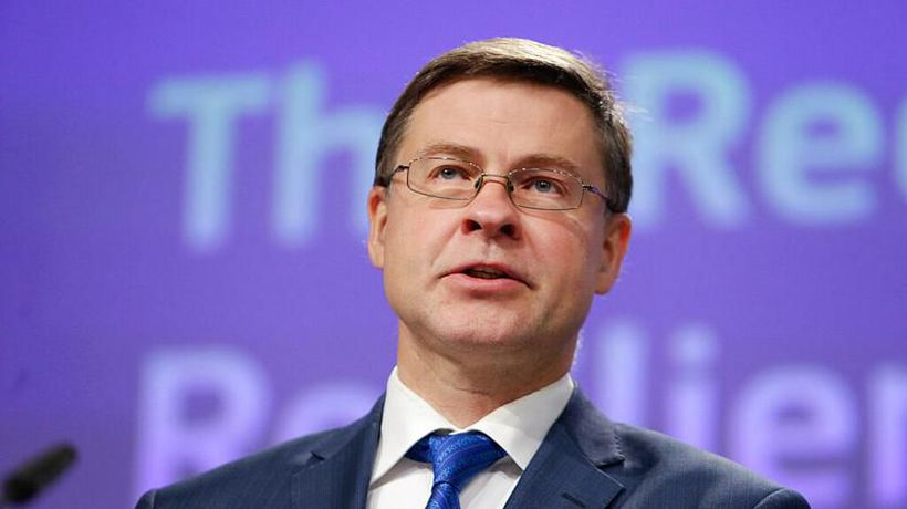 EU economy to rebound 'quite strongly' next year says Commission's Dombrovskis