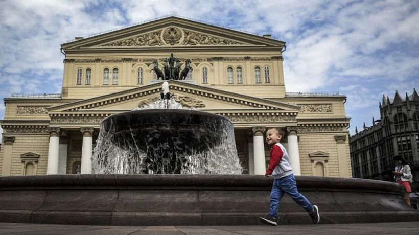 Russia's famous Bolshoi Theatre reopens after six month coronvirus lockdown