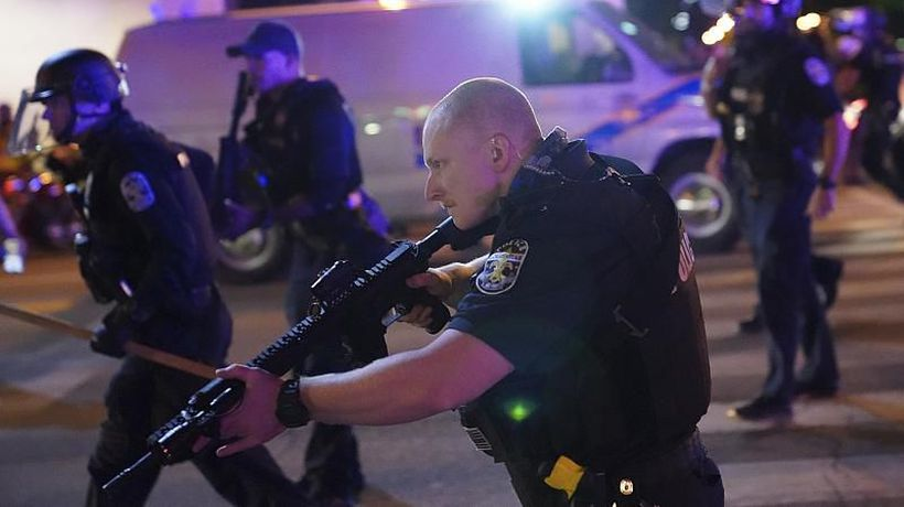 Two Louisville police officers shot and injured amid protests over Breonna Taylor's death