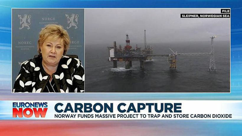 Norway funds massive project to trap and store carbon dioxide