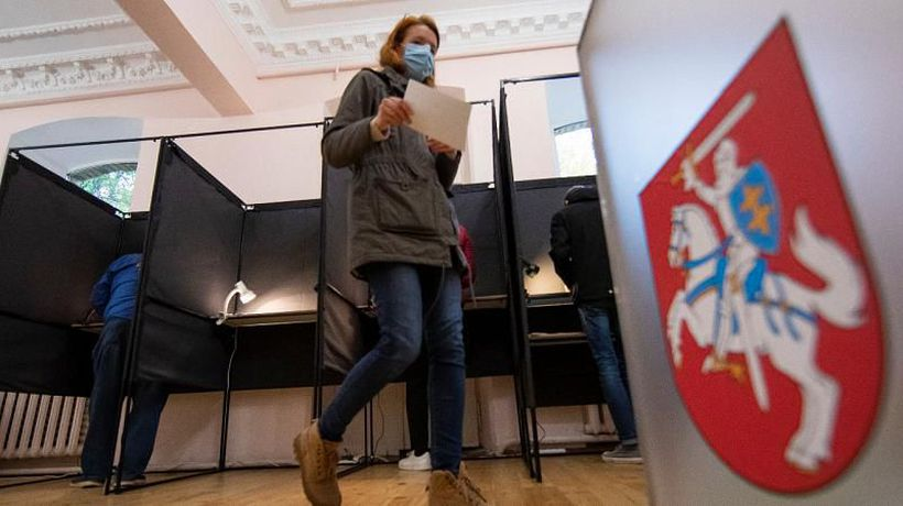 Lithuania holds national election with coalition talks expected