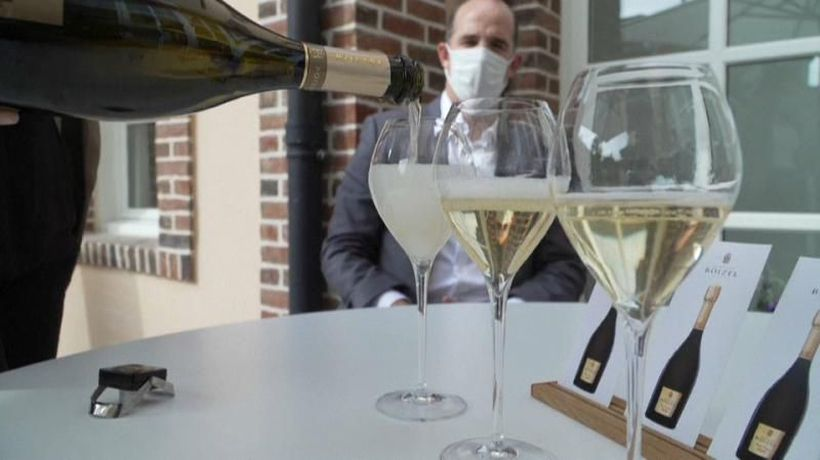 Fizzling out: Champagne sales down as coronavirus pandemic rumbles on