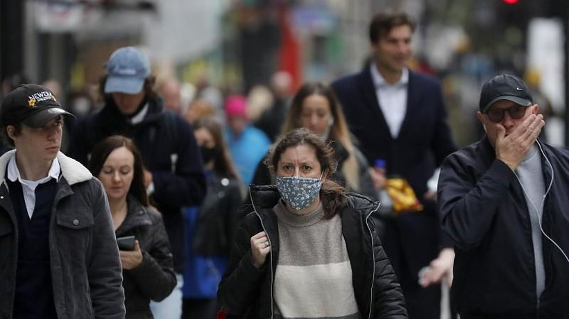 London bans different households from gathering as it tightens rules to tackle coronavirus spike