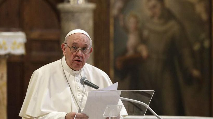 Pope Francis gives landmark endorsement of same-sex civil unions