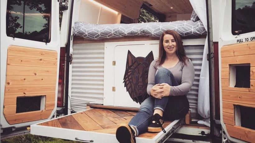 Meet the woman whose lockdown campervan project changed her life