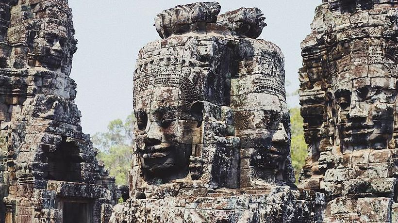 Meet the gardeners risking their lives to save Angkor Wat