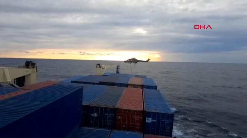 Turkey condemns search on cargo ships by German military