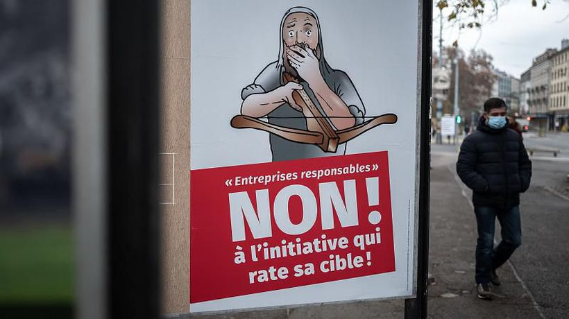 Swiss voters reject proposals to increase liability for big companies