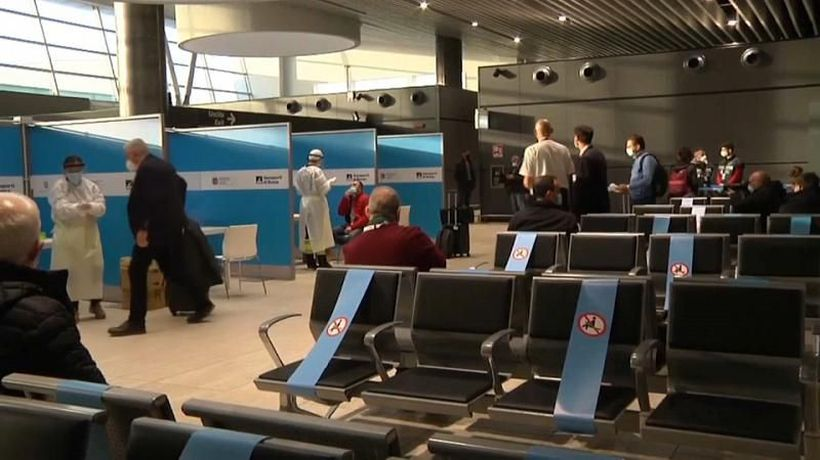 First quarantine-free flight from JFK to Fiumicino arrives in Rome