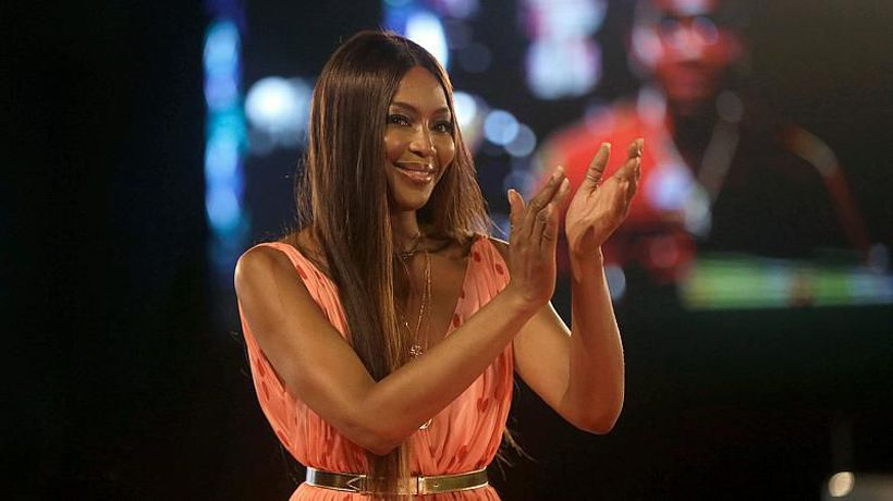 Naomi Campbell hails young African designers