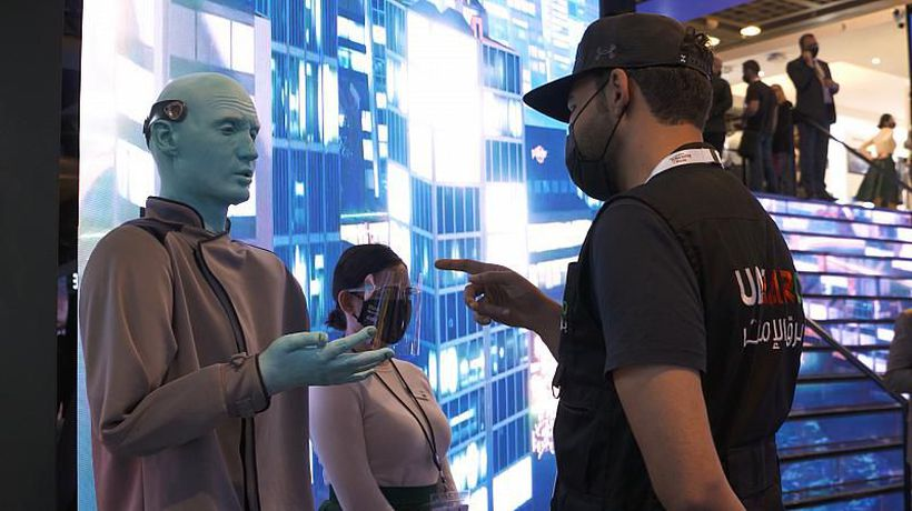 Humans and robots battle it out for control of the future
