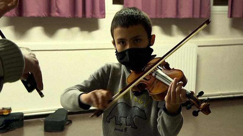 French music programme puts children in orchestra for free