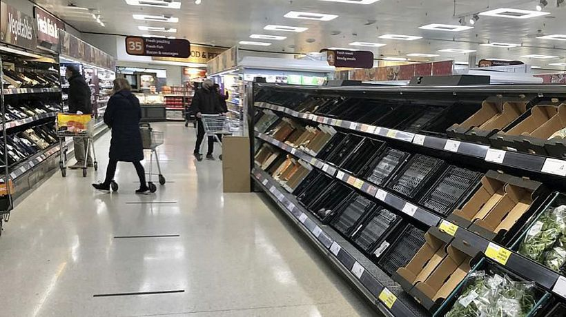 Brexit red tape is leading to shortages in some UK supermarkets