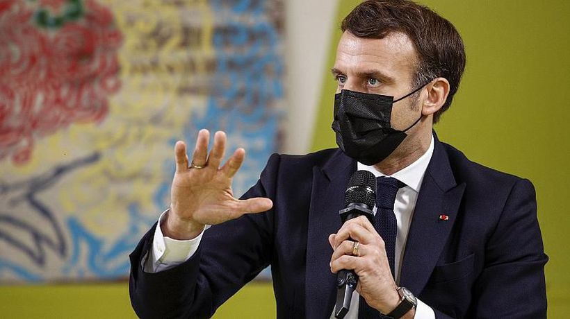 Emmanuel Macron promises students one euro lockdown meals and a quick return to classes