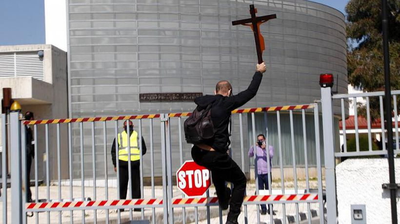 Eurovision song protest: Orthodox Christians demand withdrawal of Cyprus' 'satanic' Eurovision entry