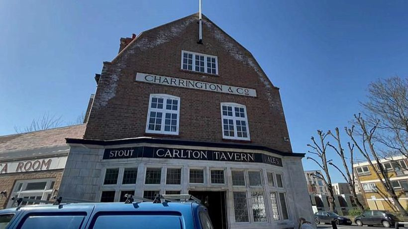 London pub restored to former glory after being reduced to rubble by developers