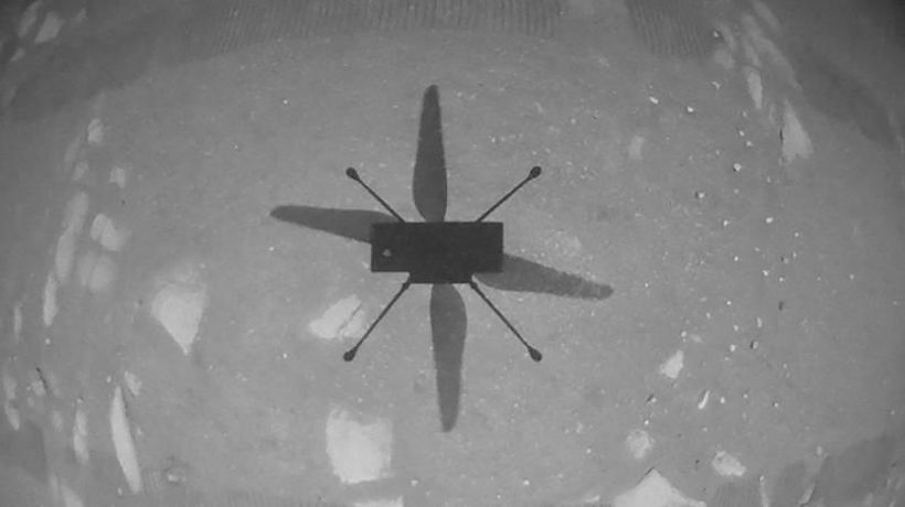 Watch NASA's Ingenuity helicopter take its first flight on Mars