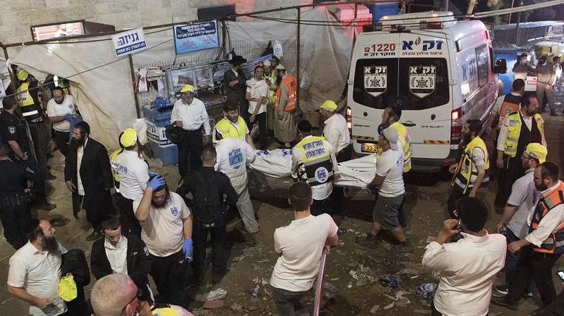 'A great tragedy': Dozens killed in Israel religious festival stampede