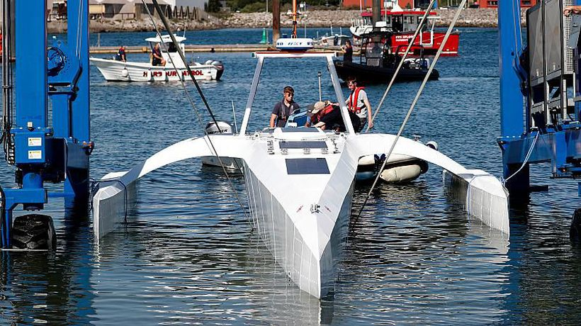 Mayflower 400 is preparing to be the first unmanned vessel to navigate across the Atlantic