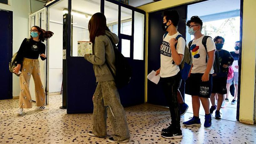 Greece lockdown measures lift allowing schools and courts to reopen
