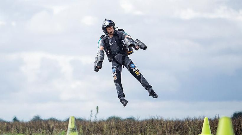 The world's fastest jetsuit is making human flight a reality - and saving lives