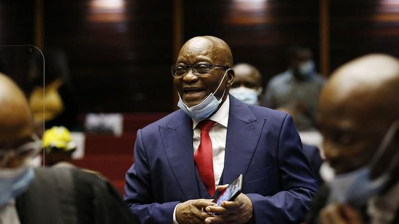 South African Deputy Chief Justice nods to Zuma jail time court ruling