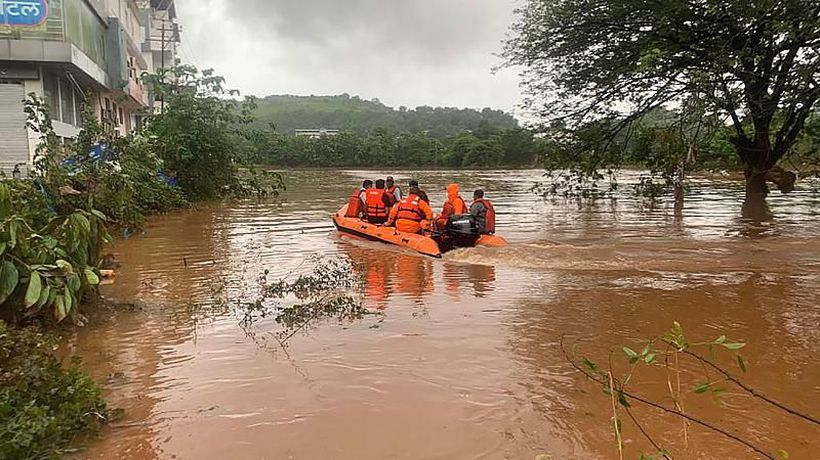 Over 100 people die after monsoon rains hit parts of western India