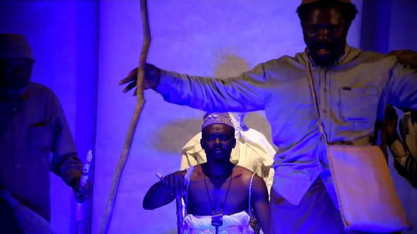 Rudolf Douala Manga Bell: A play of the Cameroonian king who defied German tyranny