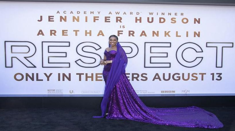 Jennifer Hudson talks being tapped by Aretha Franklin for 'Respect'